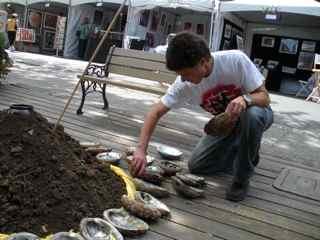 Tiburon Art Festival- Abalone Mosaic