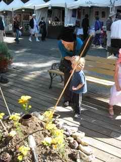 Tiburon Art Festival- Spontaneous Healing