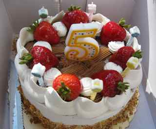 Tiburon Art Festival- Birthday Cake