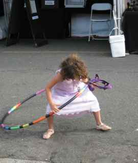 Tiburon Art Festival- Tara Mini with Hula Hoop1