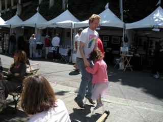 Tiburon Art Festival- Real Levitation