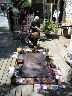 Tiburon-Art-Festival-placing-flowers-2